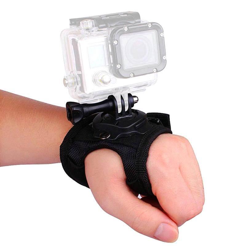 สายรัดข้อมือ 360 องศาหมุนมือขาตั้งกล้องสำหรับ Hero 5/4/3 + By A Mango.