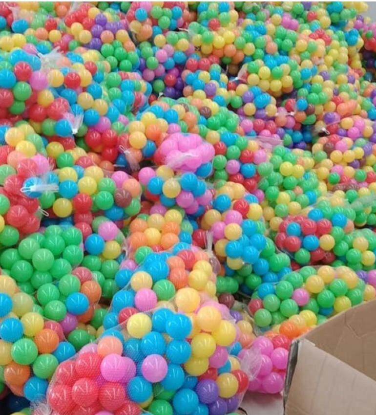 ลูกบอลหลากสี บ่อบอล บ้านบอล บรรจุถุงละ50ลูก By Itimtoys.