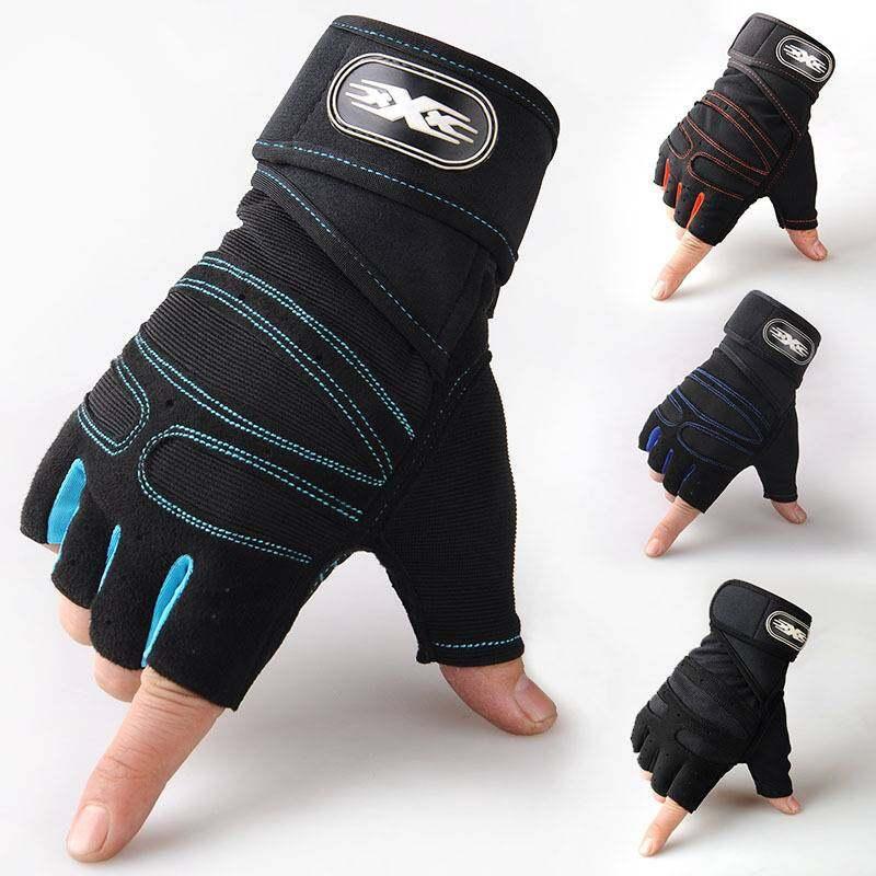 ถุงฟิสเนส ถุงมือยกน้ำหนัก ถุงมือออกกำลังกาย ถุงปั่นจรักยาน.