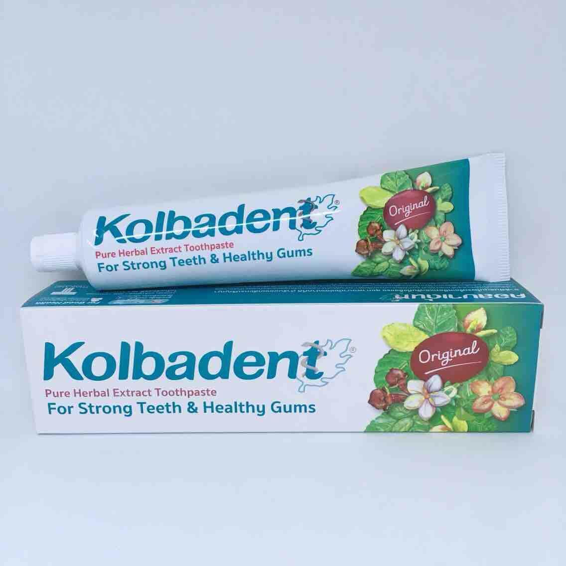 ยาสีฟัน Kolbadent 160 g