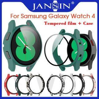 Vỏ + Kính cường lực cho Đồng hồ Samsung Galaxy Watch 4 Bảo vệ màn hình Bao phủ Ốp lưng cho Đồng hồ thông minh Samsung Galaxy Watch 4 44mm 40mm thumbnail