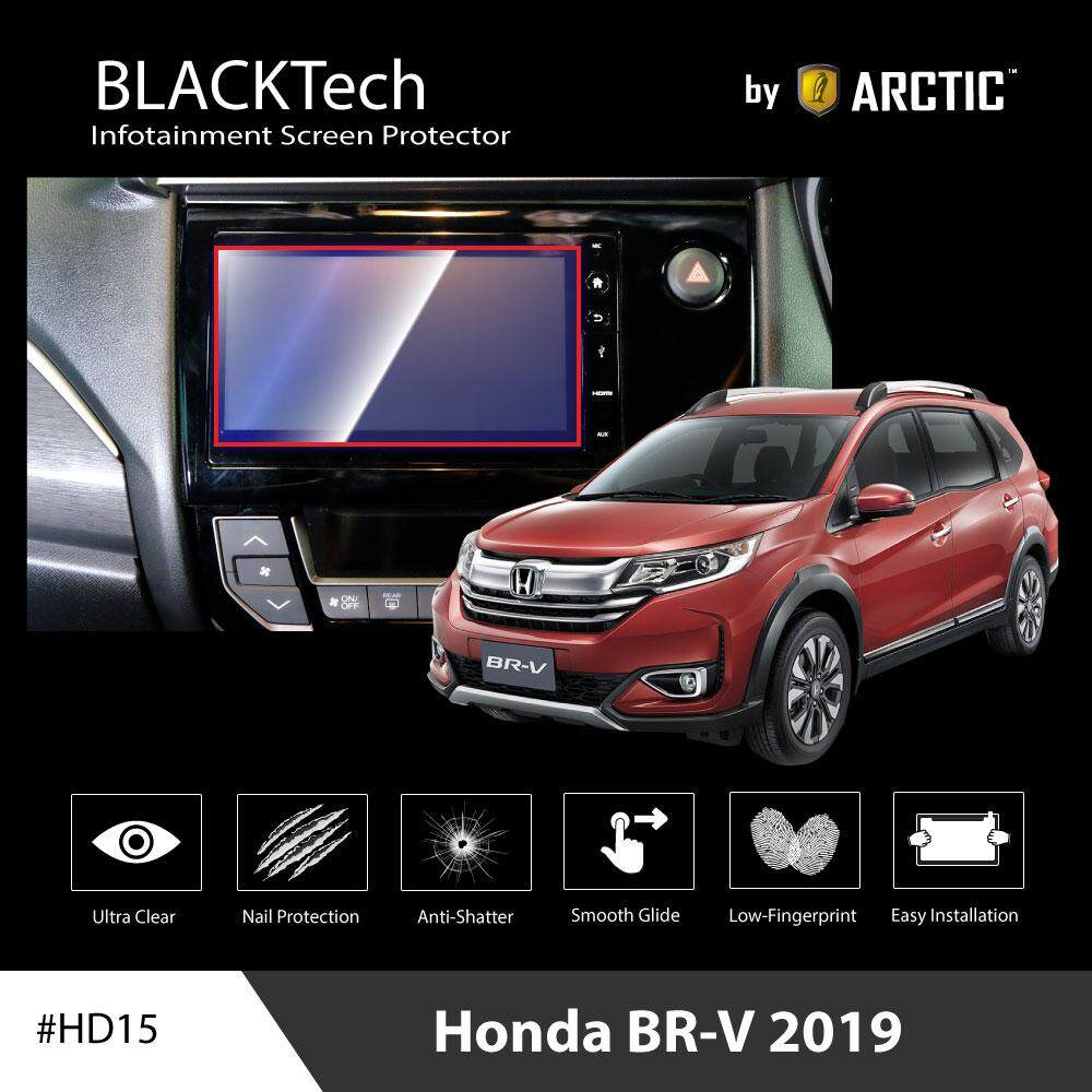 ฟิล์มกันรอยหน้าจอรถยนต์ Honda Br-V 2019 จอขนาด 7.4 นิ้ว - Blacktech By Arctic.