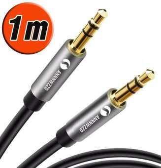 สาย Audio 3.5มม หัว ผู้-ผู้  คุณภาพสูง 3.5mm Aux Cable Male to Male Audio Cable Line For Car iPhone MP3/MP4 Headphone Speaker