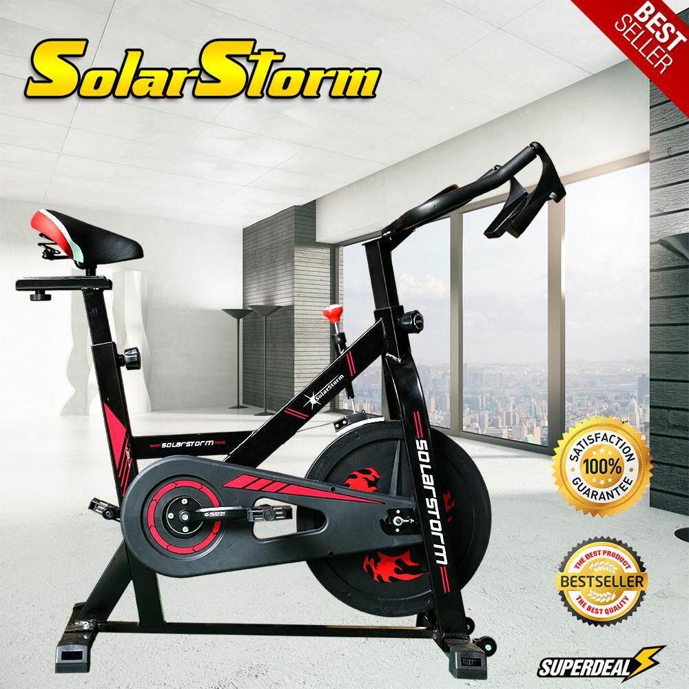 จักรยานออกกําลังกาย Spin Bike รุ่น Storm จักรยานฟิตเนส ราคาถูกที่สุด ประกันศูนย์ 1ปี By Sport World.