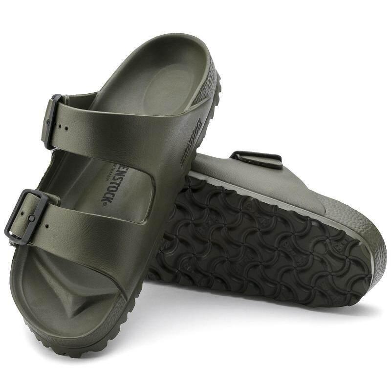 Birkenstocks Arizona EVA Khaki Men Beach Non-slip Shoes Summer Shoes