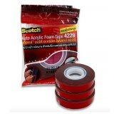 ราคา 3M 4229 แพ็ค 3 ม้วน โฟมเทปกาว 2 หน้า ขนาด 12 มม X 2 5 เมตร หนา 8 Mm Acrylic Foam Tape สำหรับงานตกแต่งรถยนต์ ใหม่ล่าสุด