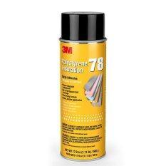 ขาย 3M 78 สเปรย์กาว สำหรับ โพลีสไตรีนโฟม Polystyrene Foam Insulation Spray Adhesive Clear 17 9 Oz ออนไลน์