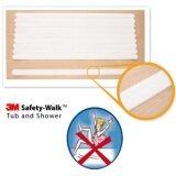 ขาย ซื้อ ออนไลน์ 3M Anti Slip Tape White เทปกันลื่นชนิดเส้น สีขาว 19มม X 431 มม 10 เส้น สำหรับอ่างน้ำและพื้นห้องน้ำ