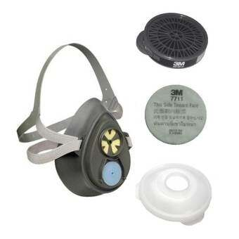 3M หน้ากากไส้กรองเดี่ยวสำหรับงานพ่นสี/พ่นยา รุ่น 3200-55-