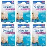 ราคา 3M Nexcare Sterile Eye Patch พลาสเตอร์ปิดตาขนาดเล็ก 10ชิ้น กล่อง 6 กล่อง ใหม่