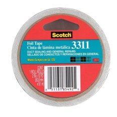 ซื้อ 3M Scotch® Foil Tape เทปอลูมิเนียมสำหรับงานทั่วไป หน้ากว้าง 2 นิ้ว 3M Scotch ออนไลน์