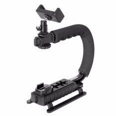 ส่วนลด 4 In 1 Smartphone Action Camera Camcorder Dslr Camera Stabilizer C Shape Rig Low Position Shooting System For Nikon Canon Sony Gopro Sjcam Xiaomi Yi Sony Garmin Virb Xe Iphone Samsung