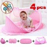 ขาย 3 Years Summer Baby Bed Portable Foldable Mosquito Net Newborn Sleep Bed Travel Bed Baby 110 65 60Cm Intl Unbranded Generic ผู้ค้าส่ง