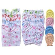 ชุดของขวัญ ชุดเด็กแรกเกิด เสื้อผ้าเด็กอ่อน ถุงมือเด็กอ่อน เด็กแรกเกิด 6 เดือน แพ็ค 4 ชุดเด็ก 4 ชุด ถุงมือ 4 คู่ ใน กรุงเทพมหานคร