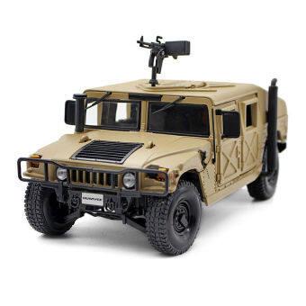 1/24 Hummer Desert Storm SUV Movable Alloy Diecast Car Model Toy - intl