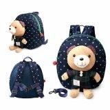 ขาย 1 3 Years Old Baby Keeper Toddler Walking Safety Harnesses Bear Backpack Strap Bag Blue ออนไลน์ ใน จีน