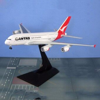 1/400 Scale 20CM A380 Spirit of Australia Qantas Alloy Aircraft Plane Model