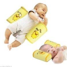 1 ชิ้นเด็กทารกเด็กวัยหัดเดินปลอดภัยผ้าฝ้ายหมอนป้องกันการกลิ้งนอนเครื่องปรับตำแหน่งหัวหมอนเด็กแรกเกิด - Intl.