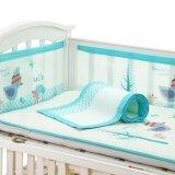 ซื้อ 1 Piece Breathable Mesh Crib Bumpers Baby Bedding Crib Liner Cot Bed Around Crib Netting Protector Infant Bed Bumper Baby Bed Protector 60X120Cm Intl ถูก