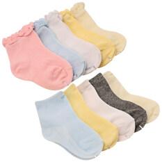 10 คู่น่ารักทารกอ่อนนุ่มฝ้ายถุงเท้า - นานาชาติ.