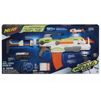 ปืนชุดใหญ่ของแท้ 100% Nerf N-Strike Modulus ECS-10 Blaster