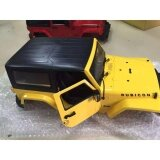 ขาย 1 10 Rc Model Plastic Modified Body Shell Land Rover Wrangler Crawler Car Yellow Intl ราคาถูกที่สุด
