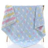 ขาย ผ้าห่มเด็ก เนื้อผ้าฝ้ายญี่ปุ่น ขนาด 110X110 ซม สีฟ้า None เป็นต้นฉบับ