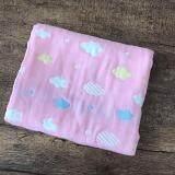 ราคา ผ้าห่มเด็ก เนื้อผ้าฝ้ายญี่ปุ่น ขนาด 110X110 ซม สีชมพู ใหม่