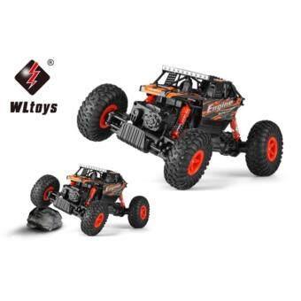 รถบังคับ ลุยน้ำ รถบังคับวิทยุวิบาก รถบังคับไฟฟ้า รถไต่หิน สำหรับขาลุย ขนาด 1:18 Rock Crawler 4WD 2.4ghz (สีแดง)