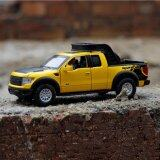 1 32 Scale Ford F150 Truck Die Cast Model Car With Light Sound Door Opening Intl เป็นต้นฉบับ
