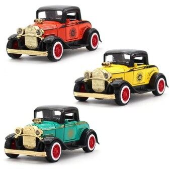 1:36 Simulation Alloy Q version of the classic retro Ford car model double-door car model toys - intl