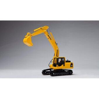 1:43 Original KOMATSU PC200-8 Excavator Engineering Crawler Alloy Diecast Model Yellow Color - intl