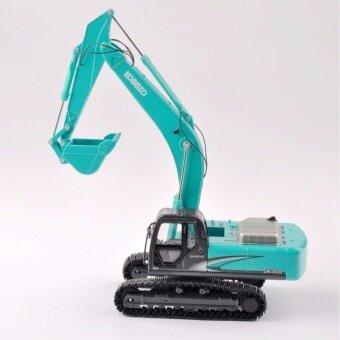 1/50 Scale SK-350 Light Blue Diecast Excavator Truck Car Vehicles Model - intl