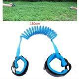 ขาย ซื้อ 1 5M Baby Child Anti Lost Safety Wrist Link Rope Band Leash Belt With Hook And Loop Fastener For 1 12 Years Old Kids Blue กรุงเทพมหานคร