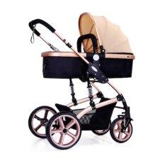 ซื้อ รถเข็นเด็กปรับนอน 180 แรกเกิด Baby Stroller Wisesonle 36เดือน เข็นหน้า หลังได้ มีสปริงรับแรงกระแทรก 2 จุดหลัก ใน กรุงเทพมหานคร