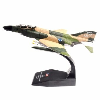1967 USA Air Force F-4C Phantom II Fighter Aircraft Airplane Diecast 1/100 Model - intl
