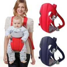 ราคา 1 ชิ้นทารกแรกเกิดทารก Carrier Breathable กลับ ห่อสายสลิง น้ำเงิน ที่สุด
