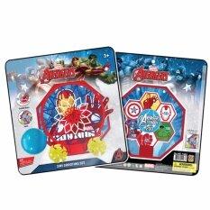 ของเล่น 2 In 1 แป้นบาส และปาเป้า Avenger By Power Toys.