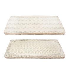 ส่วนลด 2 Pcs Pack Baby Crib Fitted Sheet 100 Cotton Soft Mattress Cover Newborn Bedding L 140X70Cm Intl Lifetree จีน