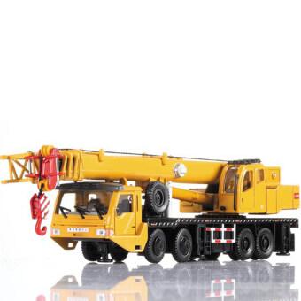 โมเดลของเล่นรถเครนโลหะผสมคุณภาพสูงปี 2016 (สีเหลือง)