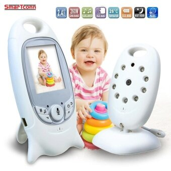 2.4GHz digital Wireless Video Baby Monitor wifi with mini Camera LCD Baby Monitors system 2 Way audio Night Vision - intl