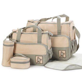 2Kids กระเป๋าสัมภาระคุณแม่ เซ็ท 5 ชิ้น (สีเขียว)