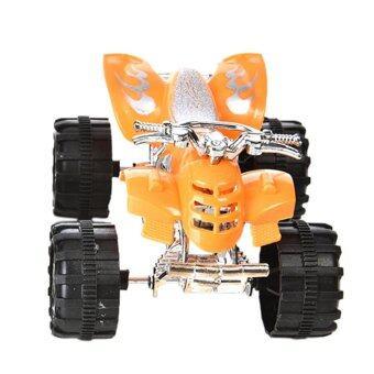 2Pcs Pull Back Car Beach Four-wheel Motorcycle Model Baby Kids Children Toys - intl
