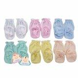 ซื้อ ถุงมือถุงเท้า เด็กอ่อนแรกเกิด 3 เดือน จำนวน 6 ชุด ใน ไทย