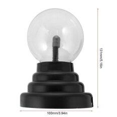 3 Usb มายากลพลาสม่าบอลทรงกลมแสงเมจิกโคมไฟคริสตัลโลกเดสก์ท็อปแล็ปท็อป - นานาชาติ.