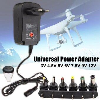 3/4 5/5/6/7.5/9/12 โวลต์ 1A แรงดันไฟฟ้าสากลอะแดปเตอร์ Converter ยุโรป EU Plug 30W