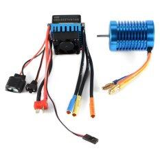 3650-4370kv 4p Slot Sensorless Brushless Motor With 45a Esc Electric Speed Controller For 1/10 Rc Off-Road Car.