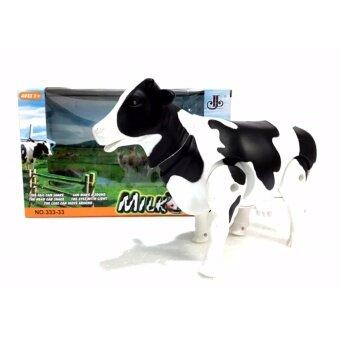 วัวนม 3D เดินได้ มีเสียง มีไฟ