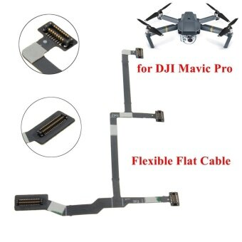 3Pcs Flexible Gimbal Flat Camera PCB Ribbon Flex Cable For DJI Mavic Pro Drone - intl