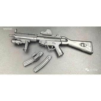 ชุดโมเดลปืนประกอบทหารซีรี่ย์4 2in1 โมเดลปืน MP5SD5 + และซีรี่ย์123 จำนวน 1ชิ้น คละแบบในกล่อง
